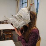 Rhinocéros, masque