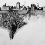voyage sur les toits, depuis ma fenêtre